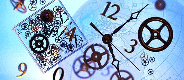 time management picture of clock