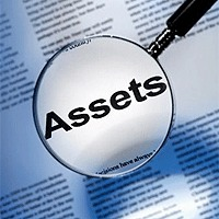 assets under magnifying glass