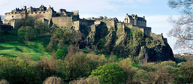 Edinburg-Castle